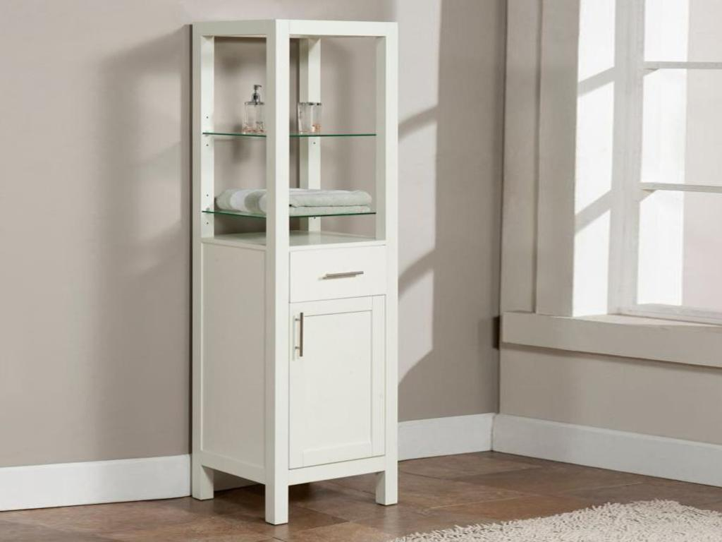Picture of: Corner Bathroom Vanity with Sink
